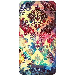 RAYITE Geometric Galaxy Premium Printed Mobile Back Case Cover For Micromax Yureka