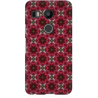 RAYITE Starry Pattern Premium Printed Mobile Back Case Cover For LG Nexus 5X