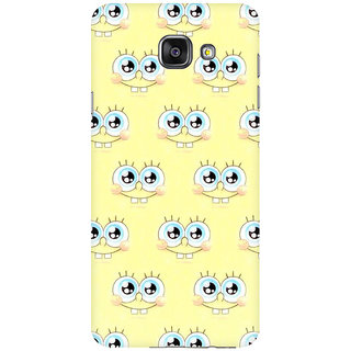 RAYITE Cute Cartoon Premium Printed Mobile Back Case Cover For Samsung A5 2016