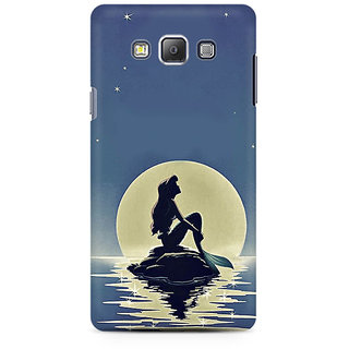 RAYITE Mermaid Premium Printed Mobile Back Case Cover For Samsung A7