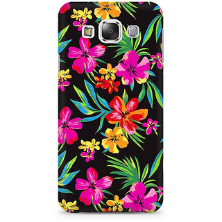 RAYITE Dark Watercolor Floral Premium Printed Mobile Back Case Cover For Samsung Grand 2 G7106