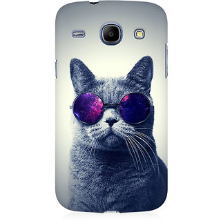 RAYITE Cool Cat Premium Printed Mobile Back Case Cover For Samsung Core I8262