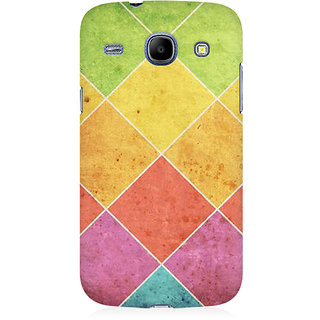 RAYITE Colourful Cross Art Premium Printed Mobile Back Case Cover For Samsung Core I8262