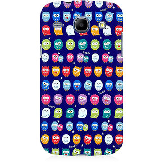 RAYITE Tiny Owl Pattern Premium Printed Mobile Back Case Cover For Samsung Core I8262