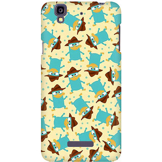 RAYITE Spy Duck Pattern Premium Printed Mobile Back Case Cover For Micromax Yureka