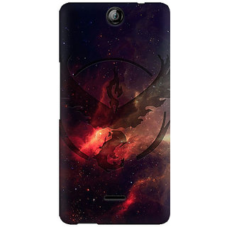 RAYITE Galaxy Bird Art Premium Printed Mobile Back Case Cover For Micromax Canvas Juice 3 Q392