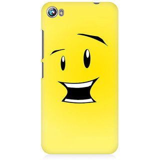 RAYITE What Toon Premium Printed Mobile Back Case Cover For Micromax Canvas Fire 4 A107