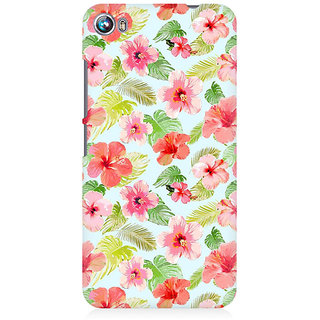 RAYITE Mandar Pattern Premium Printed Mobile Back Case Cover For Micromax Canvas Fire 4 A107