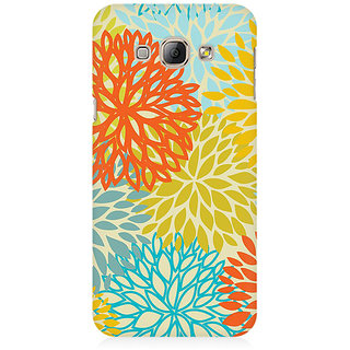 RAYITE Watercolor Colourful Mandla Premium Printed Mobile Back Case Cover For Samsung A8