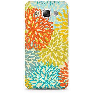 RAYITE Watercolor Colourful Mandla Premium Printed Mobile Back Case Cover For Samsung E5