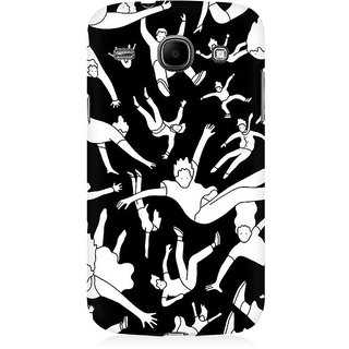 RAYITE People Pattern Premium Printed Mobile Back Case Cover For Samsung Core I8262
