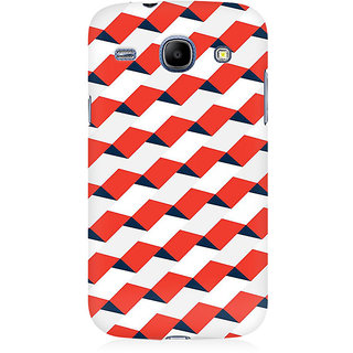 RAYITE 3D Pattern Premium Printed Mobile Back Case Cover For Samsung Core I8262