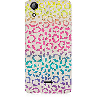 RAYITE Colourful Bubble Premium Printed Mobile Back Case Cover For Micromax Canvas Selfie 2 Q340