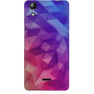 RAYITE 3D Geometric Art Premium Printed Mobile Back Case Cover For Micromax Canvas Selfie 2 Q340