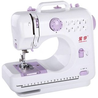 IBS Easy Portable mini household Handheld 10 built Stitch Pattens Electric Sewing Machine  ( Built-in Stitches 45)