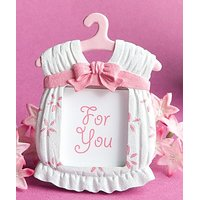 Baby Photo Frame- Pink Dress Design Set Of 4