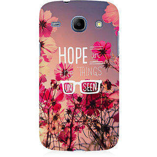 RAYITE Hope In Unseen Premium Printed Mobile Back Case Cover For Samsung Core I8262