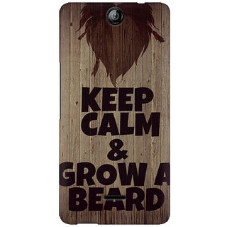 RAYITE Beard  Premium Printed Mobile Back Case Cover For Micromax Canvas Juice 3 Q392