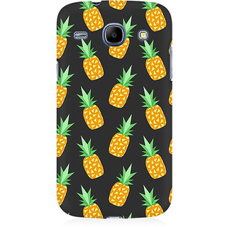 RAYITE Geometric Pineapple Premium Printed Mobile Back Case Cover For Samsung Core I8262