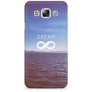 RAYITE Dream Premium Printed Mobile Back Case Cover For Samsung E7