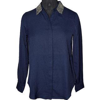 Collar Women's Shirt
