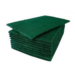 Kudos Green Pad Scrub For Cleaning (10 Pcs)