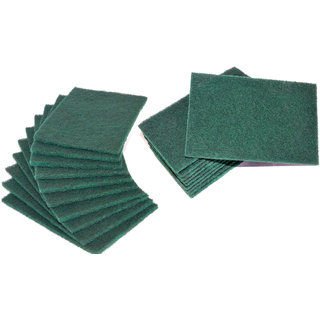 Kudos Soft-Touch Bartan Bar Green Scrub Pad - Pack of 20