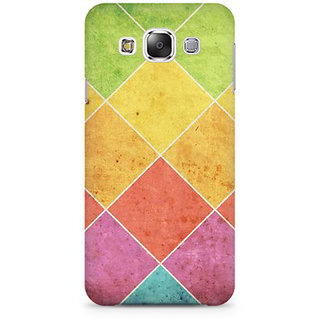 RAYITE Colourful Cross Art Premium Printed Mobile Back Case Cover For Samsung Grand 3 G7200
