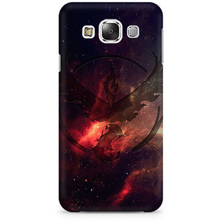 RAYITE Galaxy Bird Art Premium Printed Mobile Back Case Cover For Samsung Grand 3 G7200