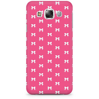 RAYITE Pink Bows Pattern Premium Printed Mobile Back Case Cover For Samsung Grand 3 G7200