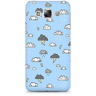 RAYITE Cute Cloud Premium Printed Mobile Back Case Cover For Samsung Grand 3 G7200
