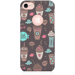 RAYITE Coffe Love Preum Printed Mobile Back Case Cover For   7 With Round Cut