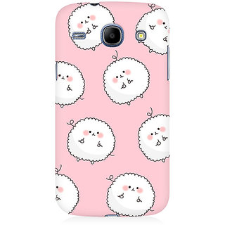 RAYITE Fluffy Toon Premium Printed Mobile Back Case Cover For Samsung Grand Duos 9082
