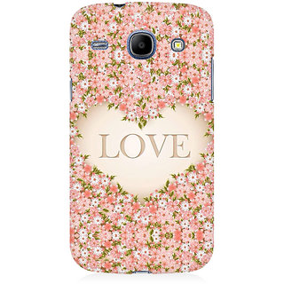 RAYITE Love Floral Premium Printed Mobile Back Case Cover For Samsung Grand Duos 9082