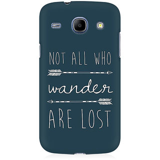 RAYITE Wander Lost Premium Printed Mobile Back Case Cover For Samsung Grand Duos 9082
