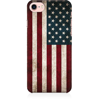 RAYITE Classic American Flag Preum Printed Mobile Back Case Cover For   7