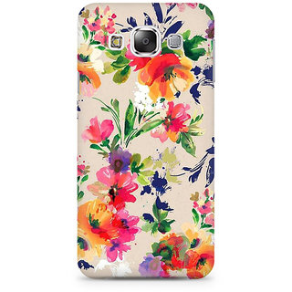 RAYITE Watercolor Floral Premium Printed Mobile Back Case Cover For Samsung Grand 3 G7200