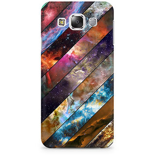 RAYITE Galaxy Wood Pattern Premium Printed Mobile Back Case Cover For Samsung Grand 3 G7200