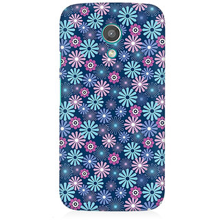 RAYITE Little Flower Premium Printed Mobile Back Case Cover For Moto E