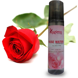 Rose Water Skin Toner Spray (135 ML) - Pure Natural (Gulab Jal) Undiluted