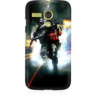 RAYITE Gamer Premium Printed Mobile Back Case Cover For Moto G