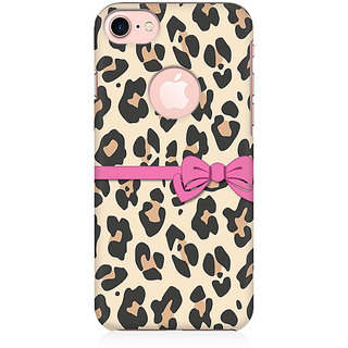 RAYITE Cheetah Gift Wrap Preum Printed Mobile Back Case Cover For   7 With Round Cut