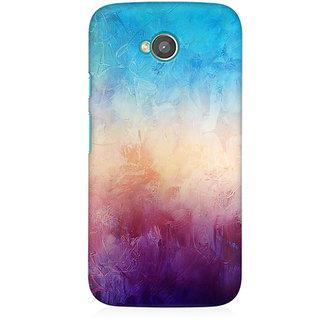 RAYITE Colourful Wall Premium Printed Mobile Back Case Cover For Moto E2