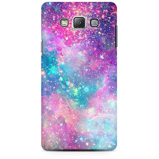 RAYITE Galaxy Print Premium Printed Mobile Back Case Cover For Samsung Grand Prime G5308