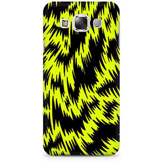 RAYITE Yellow Cheetah Pattern Premium Printed Mobile Back Case Cover For Samsung Grand 3 G7200