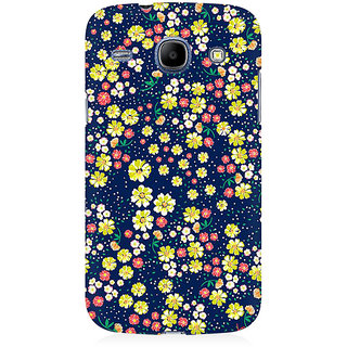 RAYITE Flower Hub Pattern Premium Printed Mobile Back Case Cover For Samsung Grand Duos 9082