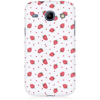 RAYITE Strawberry Hub Premium Printed Mobile Back Case Cover For Samsung Grand Duos 9082