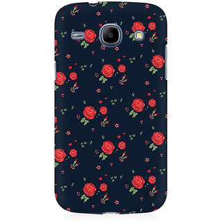 RAYITE Rose Pattern Premium Printed Mobile Back Case Cover For Samsung Grand Duos 9082