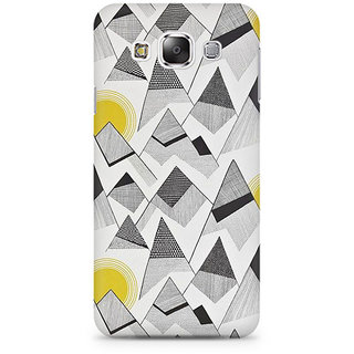 RAYITE Black And White Sketch Premium Printed Mobile Back Case Cover For Samsung Grand 3 G7200
