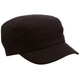 Kangol Men's Twill Army Cap, Black, Large/X-Large